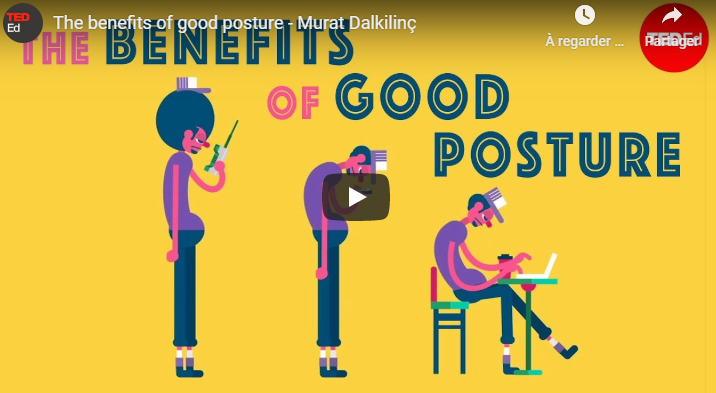 The benefits of good posture TED-Ed