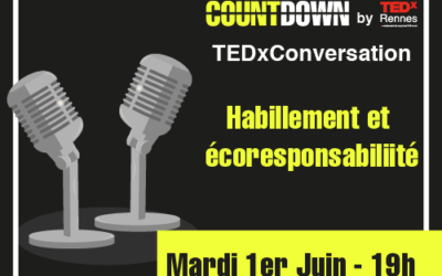 Table ronde : Countdown by TEDxRennes le 1er juin 2021 !